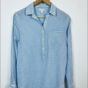 J. Crew Crinkle Button Down